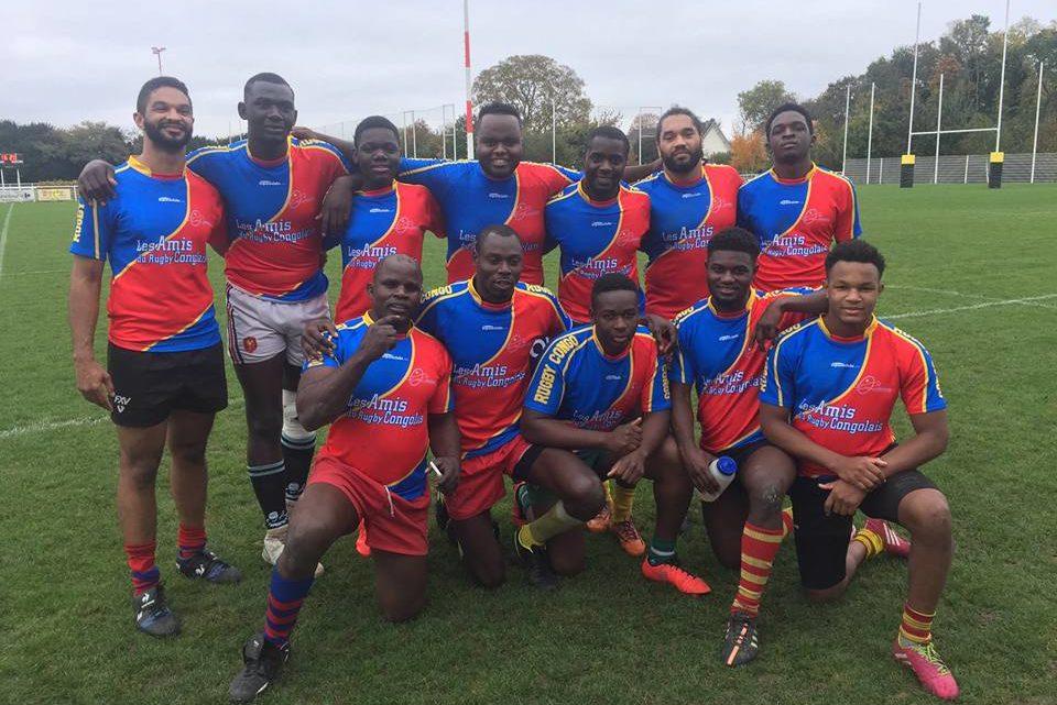 L'équipe nationale de la RDC rugby à 7 au tournoi international JC Technique en France