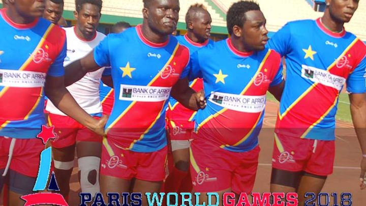 L'équipe Nationale Masculine Rugby A7 Version France Au Tournoi International Paris World Games